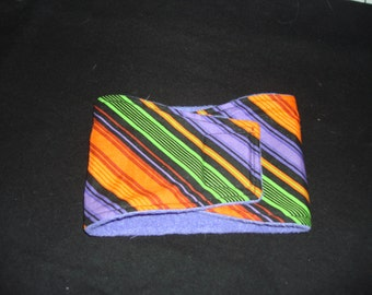 Halloween Striped Dog Diaper - Male Dog Belly Band - Available in all Sizes