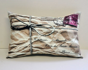 Mail Parcel pillow