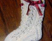 Baby Gull Lace Knit Knee High Socks (MADE TO ORDER)