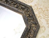 """Ready To Ship - NEOCLASSIC MIRROR DECORATIVE For Sale Unique Vintage Framed Mirror 40""""x22"""" Long Narrow Vanity Gothic Decorative Unique"""