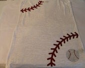 Sparkley Baseball Laces Tank or Tee--Unique and Fun-
