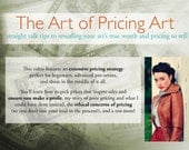 The Art of Pricing Art: instructional video