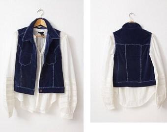 1990's Velveteen Vest