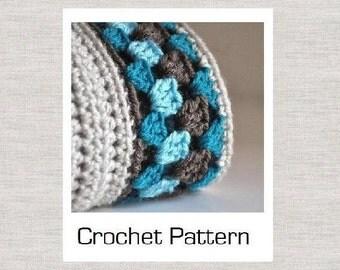 PDF Crochet Pattern for Granny Border Baby Blanket