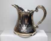 Silver Plated Creamer