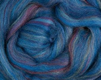 "Ashland Bay Multi Colored Merino for Spinning or Felting ""Baltic""  4 oz."