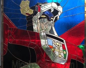 Stained Glass Voltron Panel