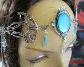 Emerald Circlet of the Elven Magi Celtic Druid LARP Bridal Cosplay Renaissance