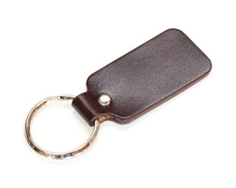 Key Fob, Leather Key Fob, Mens Key Fob, Womans Key Fob, Brown, Black, Natural Leather