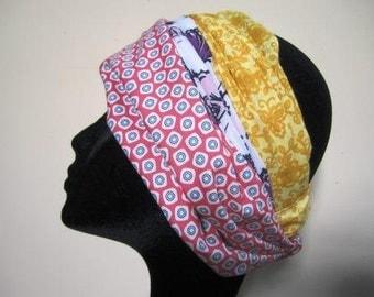 Headband Scarf Cotton Retro Vintage Country Calico Elastic Fabric Choice – One Size