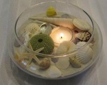Treasures from the Sea - Centerpiece Candle Holder #2