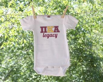 Customizable Fraternity Infant Bodysuit - TW