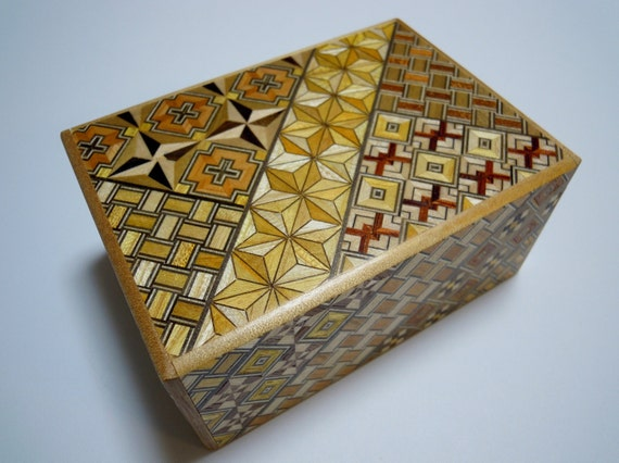 Himitsu bako Puzzle Box, 10 Steps, New