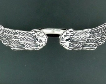 Angel Wings Ring in Sterling Silver