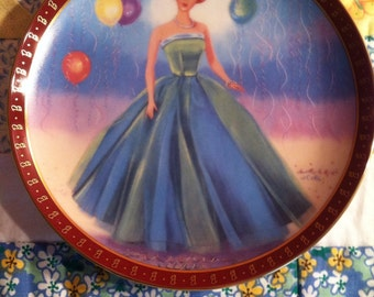 Danbury Mint High Fashion Barbie Plates Vintage High Fashion Barbie
