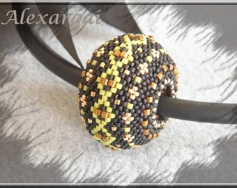 Pattern Morbol Beaded Bead