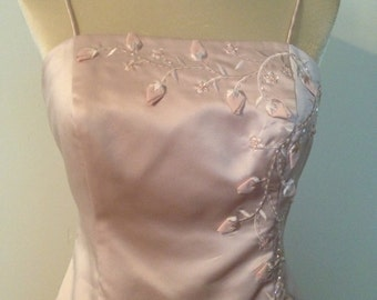 Misses Size 6 Women's Soft Pink Formal - Wedding - Bridesmaids - Prom Dress - Social Party