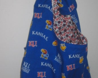 University of Kansas JayHawks Reversible Tote Bag