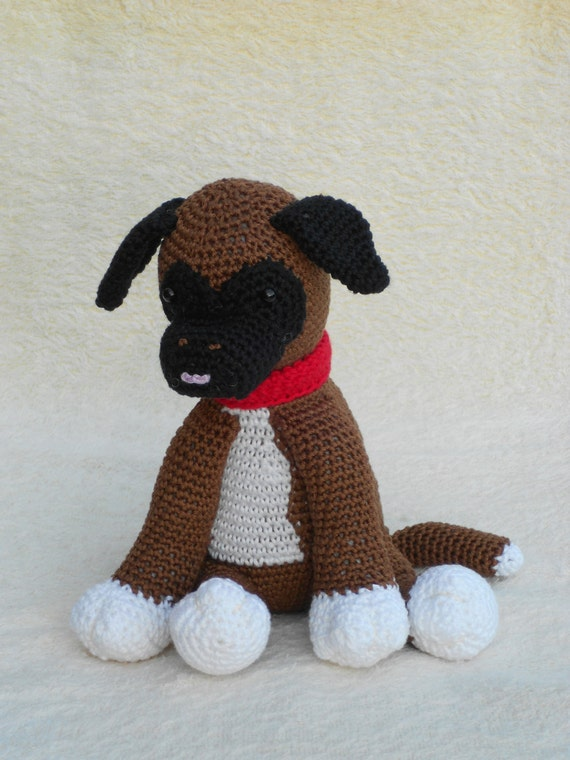 Crochet patterns Boxer puppy Pigeons and Minion by wolgeit