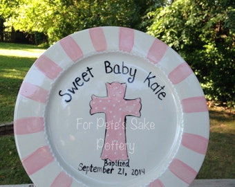 Baptism/ Christening plate