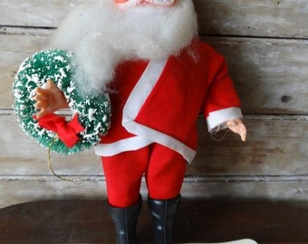 Vintage Standing Santa From the 1960's