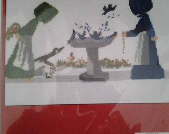 Cross-stitch Kit *Spring Cleaning*