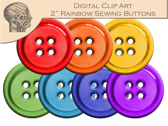 clothes buttons clip art - photo #22
