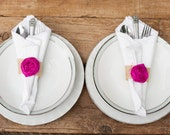 Rustic wedding burlap napkin rings wedding decor country chic vintage inspired barn wedding