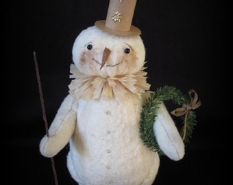Winter Wishes Snowman Christmas Candy Container KIT by cheswickcompany