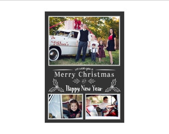 We Wish You a Merry Christmas Photo Card