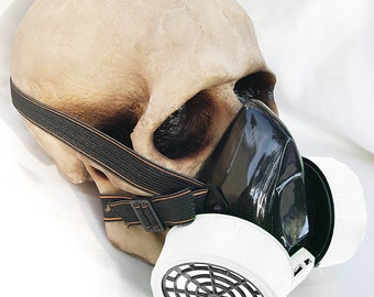 Steampunk Gas Mask - ROMANTICALLY APOCALYPTIC- 'Mr SNIPPY' Cosplay Industrial Respirator Steampunk Mask - Burning Man Mask