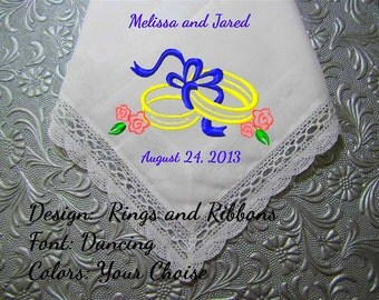 Wedding Gift Ideas-Bridal Gifts They Are Unique - Grandma, Nana, Grandpa, would love a gift hankie. Hankerchief for wedding, birthday.