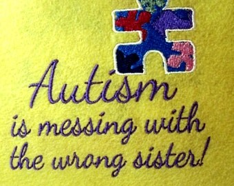 Autism Speaks To Everyone - These are suitable for framing OR - glue or pin them on a t-shirt to show rude people.
