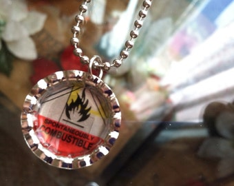 Spontaneously Combustible Necklace