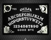 Ouija Board - Black Canvas Patch