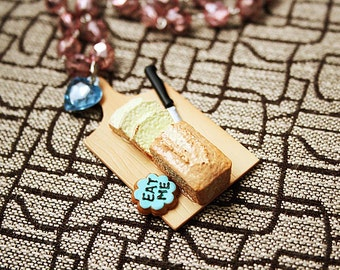 Loaf of bread necklace