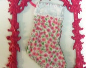 """Lilly Pulitzer Christmas Stocking Mary Mary great gift for your """"Minnie"""""""