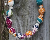 Floral Bliss-Mommy and Baby Teething/Nursing Necklace