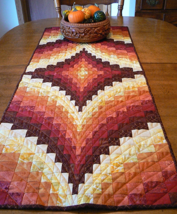 Fall Bargello Table Runner By Sosewbig On Etsy