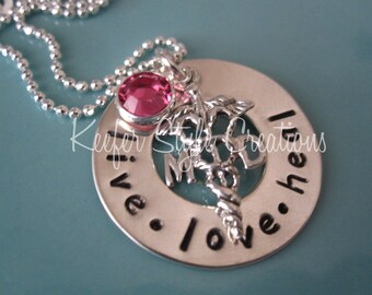 Hand Stamped Doctor Necklace