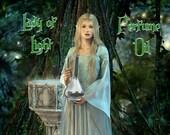 LADY OF LIGHT Perfume Oil:  Inspired by Galadriel, Orange Blossom, Vetiver, Oakmoss, Honey, Azalea, Lord of the Rings, The Hobbit