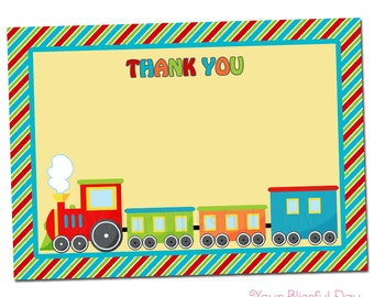 PRINTABLE Birthday Express Thank You Cards #507