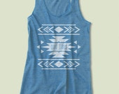 Aztec Tribal Print Tank Top