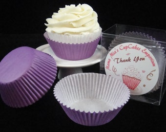 Dark Purple Cupcake Liners - Quantity 25