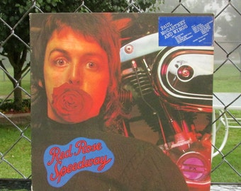 Paul McCartney and Wings Red Rose Speedway 1973 Vinyl LP Original with Booklet