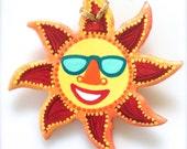 Happy Sunshine Ornament