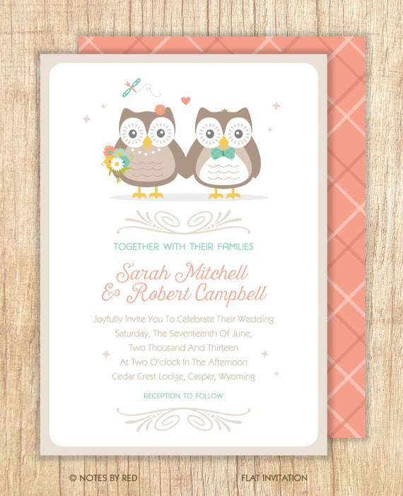 Items Similar To Owl Wedding, Owl Couple Wedding