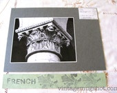 French Le Mans Cathedral France Original Photograph  Architectural Photo UC Berkeley Capital of Column
