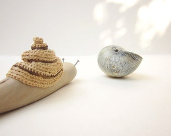 Made to Order, Wooden Snail, Wood carving, Miniature art, Wooden sculpture, home decor, reclaimed wood