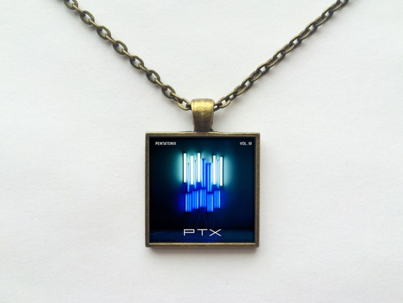 Pentatonix Volume III Album Cover Necklace OR Keychain